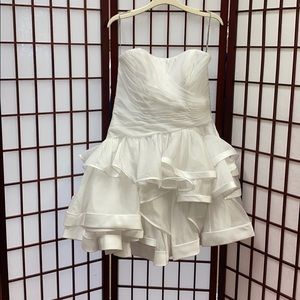 Maggie Sottero Couture short bridal dress